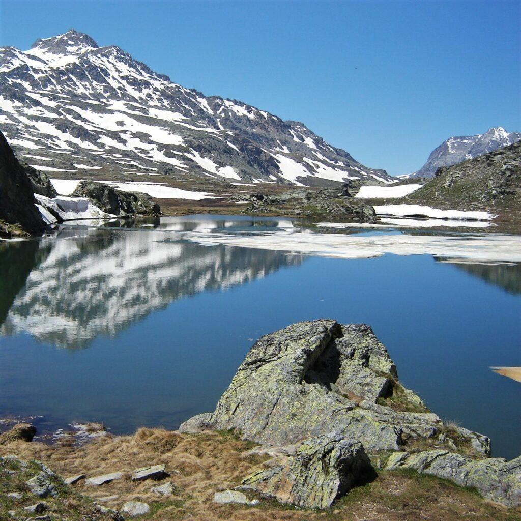 Trekking en Piémont et Ubaye à pied - Lac de Longet
