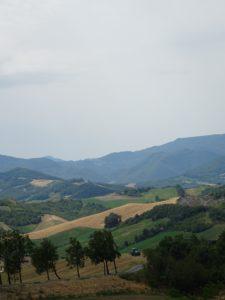 Paysage des Apennins