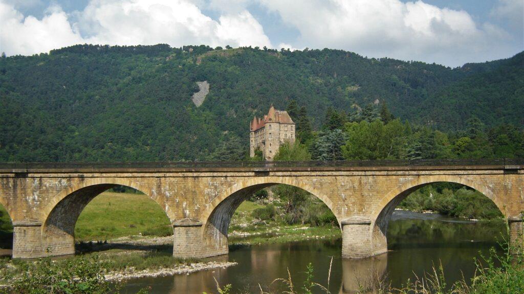 Auvergne à vélo - Vallée de la Haute-Loire