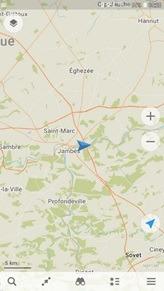 GPS sur smartphone