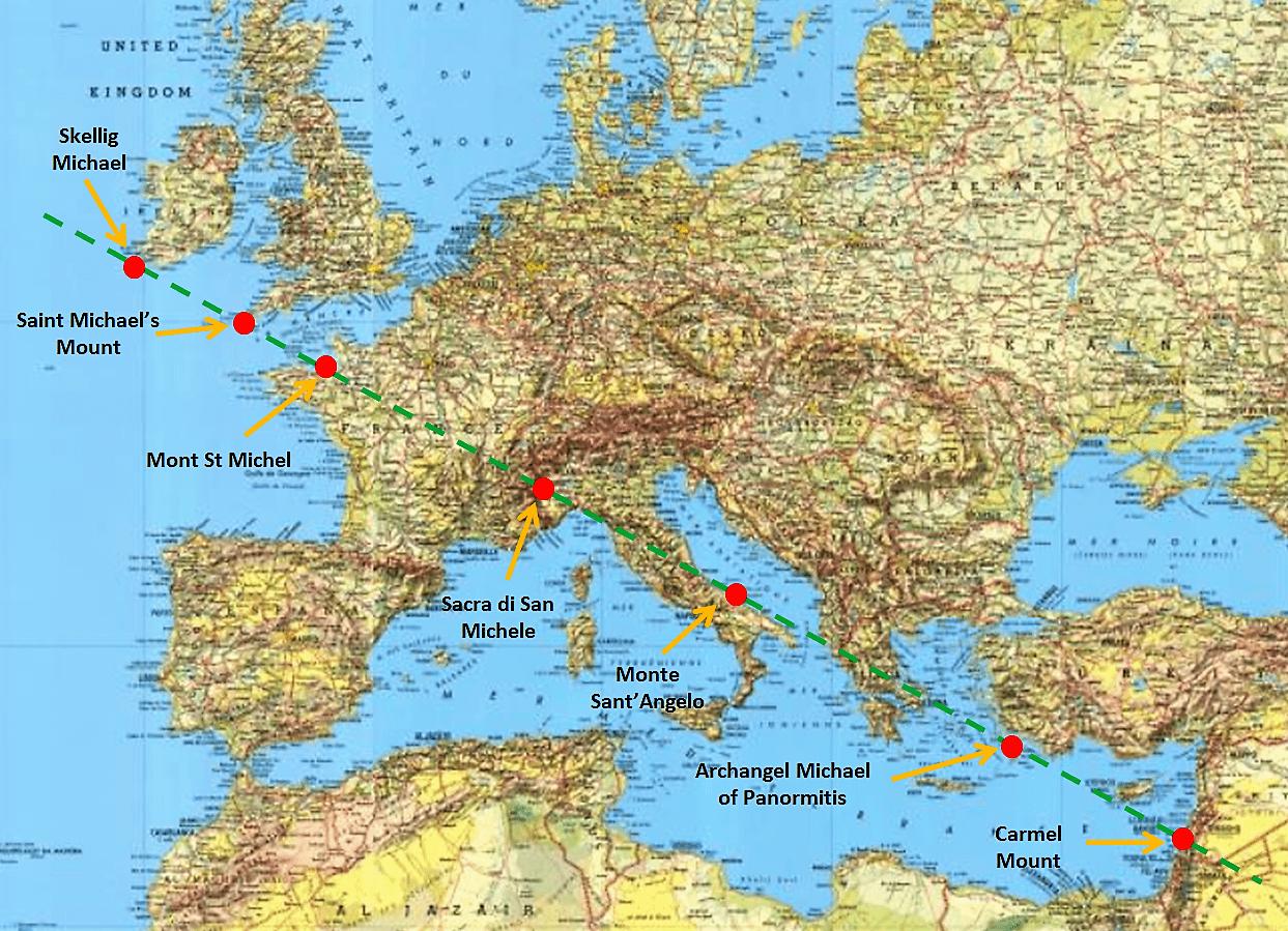 Ligne de St Michel