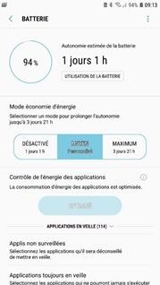 GPS sur smartphone - consommation d'énergie