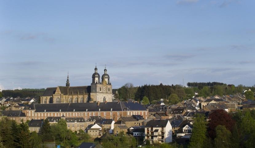 St-Hubert et son abbatiale